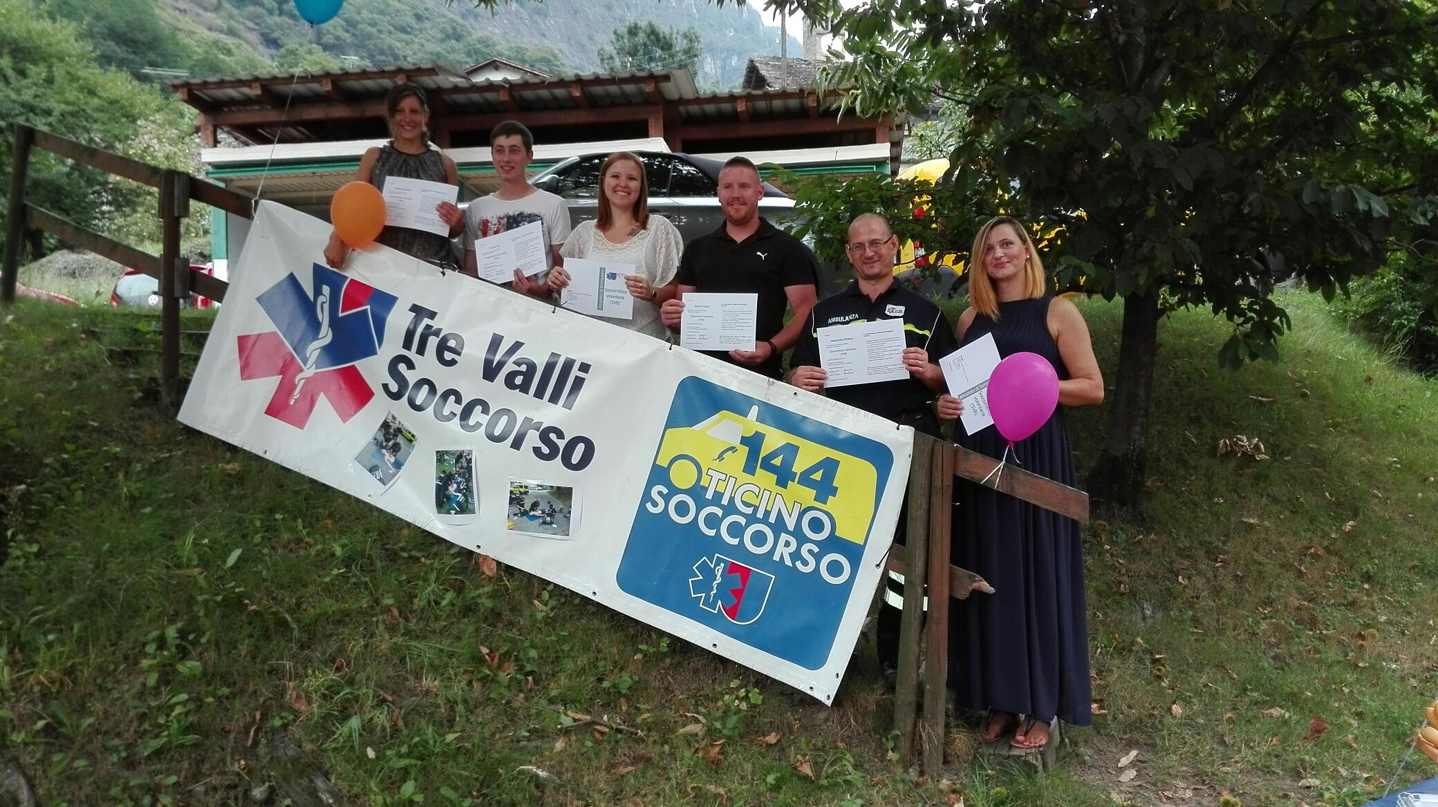 Nuovi Soccorritori Volontari a Tre Valli Soccorso