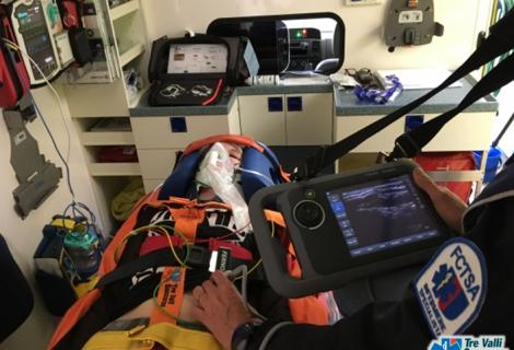 Tre Valli soccorso all'avanguardia con l'ultrasuono nell'ambito preospedaliero