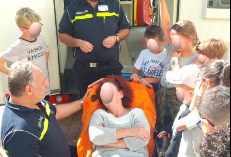 4a Giornata del soccorso: alle scuole elementari di Faido