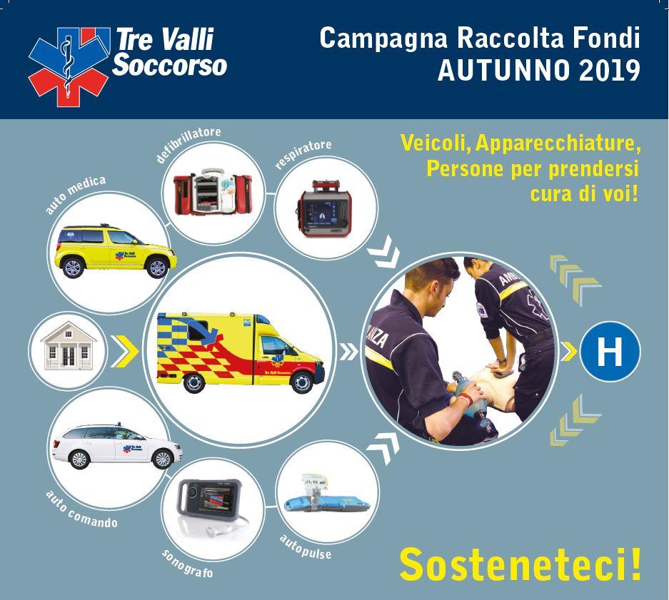 Campagna Raccolta Fondi Autunno 2019