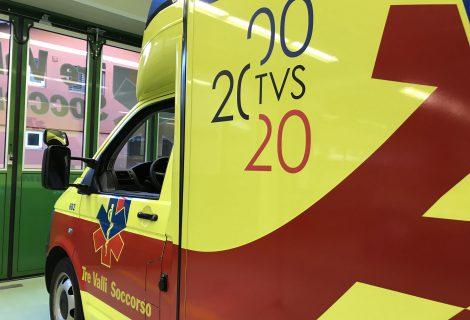 2000 – 2020  Tre Valli Soccorso festeggia i 20 anni di attività