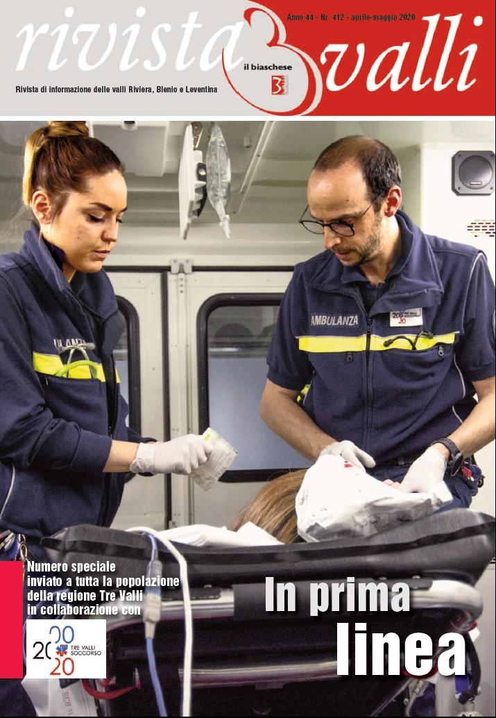 """RIVISTA 3 VALLI – Tre Valli Soccorso """"In prima linea"""" –"""